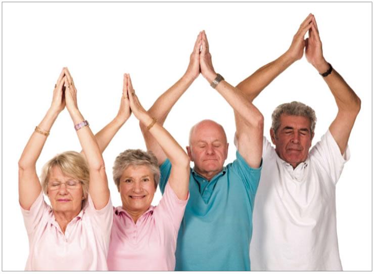 jóga időseknek, jóga, jógatanfolyam nyugdíjasoknak